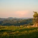 Výhledy z české vesnice v Rumunsku