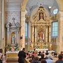 Interiér kostela Nejsvětější trojice