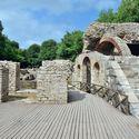 Butrint, zbytky antického města.