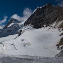 Jungfrau a trhliny v ledovci