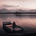 Podvečer na loďce