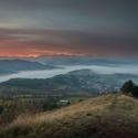 Ráno v Strážovských vrchoch