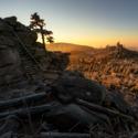 Východ slunce na Třístoličníku