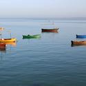 zátiší s loďkami - Kuba