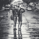 v dešti na pětaosmdesát mm