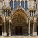 Chartres boční vchody