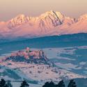 Spišský hrad vs Vysoké Tatry