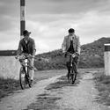 Dva cyklisté  ze staré doby.