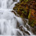 Vodní kaskády na řece Dynjandisá