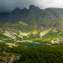 Jezero v Tatrách