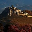 Spišský hrad na sklonku jesenného dňa ...