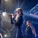 Leaves' Eyes on stage