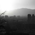 Santiago de Chile - BW