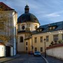 Kroměříž - kostel sv. Jana Křtitele