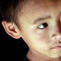 chlapec z chudé vesničky