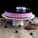 Borůvkové zrcadlo - nepečený dort