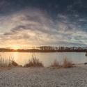 Rano pri rybniku