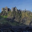 Dunluce Castle -Severní Irsko