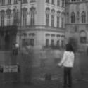 Staroměstské náměstí skrz dírku