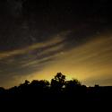 Noční západ slunce