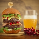 Piri Piri burger tentokrát s pivem