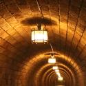 Tunel k výtahu