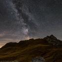 Hvězdy nad Monte Mondeval