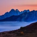 Večerní barvy Dolomit