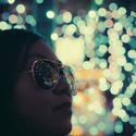 Noční hra světel