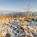 Zima nad Dolní Lomnou