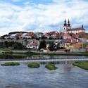 Řeka Ohře a královské město Kadaň