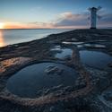 Polské pobřeží u Baltu