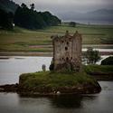 Hrad Stalker, Skotsko