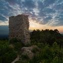 Ráno  na hradu Starý Jičín