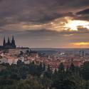Východ nad Prahou