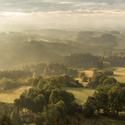 Raní výhled z Andělské Hory