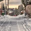 Zima na vesnici