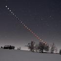 Průběh zatmění Měsíce