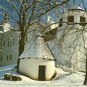 Zadní stěna Frýdeckého zamku