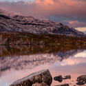 Jezero Pahtajaure - Švédsko
