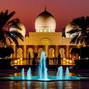 Podvečer u mešity - Sheikh Zayed Grand Mosque Center - Abú Dhabí