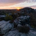 svítání v Tiských stěnách