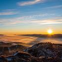 Velký Choč-východ slunce