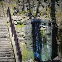 Vodopád v Bertině údolí