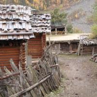 Tibetská vesnička