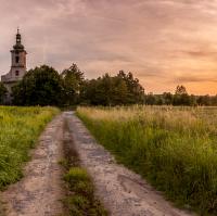 Kostelní panorama