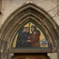 Kostel Panny Marie, sv. Jeronýma - detail