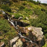 Kousek Pančavského vodopádu