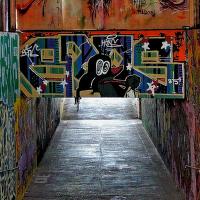 underground gallery