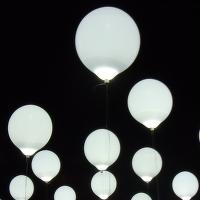 Balónky ... u Palackého mostu ...